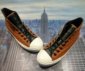 Converse Chuck Taylor All Star II 2 High Top Leather Mocha Mouse Size 9 152813c