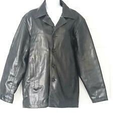 Jacket OCI Men's Non Leather Coat Black Men Clothes Chaqueta Size M
