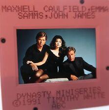 DYNASTY CAST JOAN COLLINS JOHN JAMES EMMA SAMMS Maxwell Caulfield SLIDE 22
