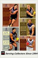 AFL Trading Card MILESTONES SUBSET MASTER TEAM SET-FREMANTLE-2012 AFL Champions