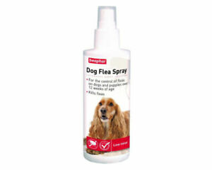 Beaphar Dog Flea Spray 150ml  for dogs/puppies 12 weeks and over-KILLS FLEAS
