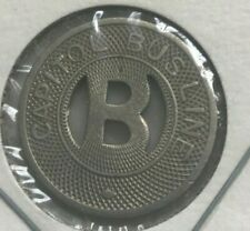 Bismarck North Dakota ND Capitol Bus Line Transportation Token