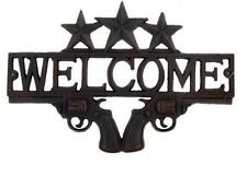 Rustic-Cast-iron-Texas-Star-Western-Cowboy-MAN CAVE-WELCOME SIGN