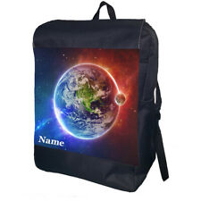 Space Backpack School Bag Travel Daypack Personalised Backpack
