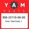 3D8-23110-00-00 Yamaha Inner tube comp. 1 3D8231100000, New Genuine OEM Part