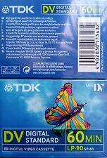 2 TDK DV Digital Video Cassetten - original verschwei�Ÿt