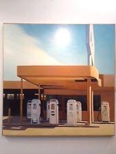 Steve Metzger Pumps Original Painting Oil on Canvas 2012 plein air