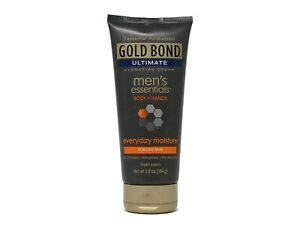 Gold Bond Men's Everyday Essentials Cream, Fresh Scent, 6.5 Ounce (184g)