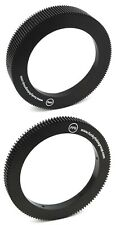 @ 2x ANGENIEUX 25-250mm 10x25 T2 Lens FOLLOW FOCUS RING GEAR for Zoom & Focus @