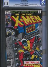 X-men # 122 CGC 9.2 Off White to White Pages. UnRestored