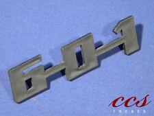 "Original Schriftzug für Trabant,  ""601"", NEU"