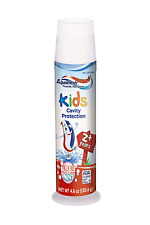 Aquafresh Kids Toothpaste, Bubble Mint, 4.6 Ounce