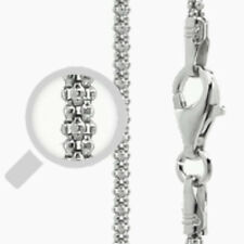 Italy Popcorn 150 Chain Sterling Silver Rhodium Plated Best Price Jewelry 16""