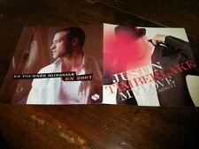 JUSTIN TIMBERLAKE - Plan média / Press kit !!! MY LOVE !!!