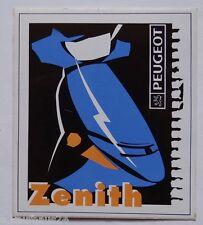 Aufkleber PEUGEOT ZENITH Motorroller Roller Scooter 90er Sticker Autocollant