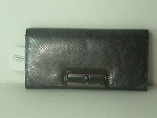 Coach Kristin Embossed Python Slim Envelope Wallet ~ F46365
