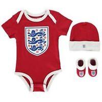 England 3 Piece Set Baby World Cup Football Team 0-3 Months England RED D443-1