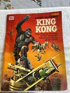 Giant Classic King Kong Comic Book (1968 Whitman) VG 4.0