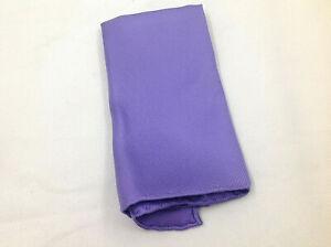 """Pocket Square Hand Rolled Hem Silk 100% Blend Lavender 14"""" Luxury"""
