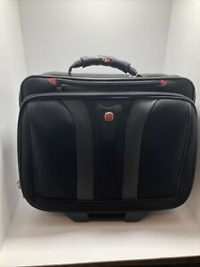 Wenger Swiss Army Rolling Travel Carry On Laptop Bag Briefcase with Wheels