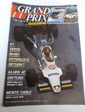 New listing GRAND PRIX INTERNATIONAL Magazine #74 1984