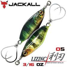 Jackall LIZINC 3/16 OZ Metal Jig color 05 HL GOLD GILL