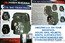 NEW/NWT RARE S8807 HIGH SIERRA US SKI TEAM HIGH SIERRA SKI BACKPACK/BOOTBAG