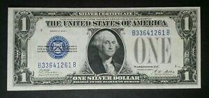 1928 A $1 Blue Seal Funnyback Silver Certificate