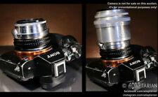 Carl Zeiss BIOGON 35/2.8 + SONNAR 85/2 Contax RF adapted to Sony E + focusing