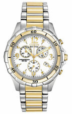 Citizen Women's 40mm Chronograph Mineral Glass Solar Date Watch Fb1354-57a