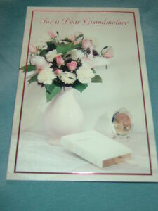 New Mother's Day Greeting Card for Grandmother