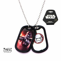 Star Wars VII: The Force Awakens Stormtrooper Stainless Steel Dog Tag Necklace