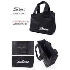"Titleist Rounf Tote Back Black ""Brand New"" #4549683855898"