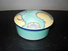 Tiffany & Co Tauck World Discovery Porcelain Powder Trinket Box Made in France