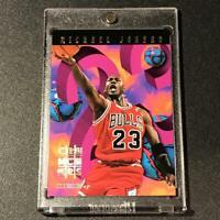 MICHAEL JORDAN 1995 SKYBOX NBA HOOPS #1 NUMBERS CRUNCHERS INSERT CARD BULLS MJ