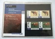 """Nederland PTT postzegelmapje 165 """"Natuurlijk landschapsbeheer (I)"""" 1997"""