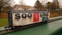 HO - SOO LINE 50' Insulated Boxcar  #177850 - CUSTOM - WEATHERED!