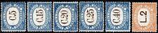 San Marino - 1939 - Segnatasse - serie completa nuova MNH - nn.54/59