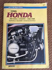 CLYMER MANUAL HONDA 700-1100CC V-fours 82-88 Pre-owned M327 Paperback