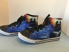 Star Wars Sneakers Sketchers Shoes Boy's Size 5 US Darth Vader High Tops