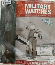 EAGLEMOSS MILITARY WATCHES ISSUE 26. 1950's FRENCH PILOT. UNOPENED / MINT