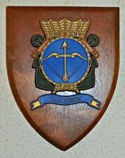 Hr Ms Drunen plaque shield crest Dutch Navy gedenkplaat HNLMS Netherlands