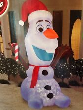 Disney Olaf Swirling Lights 8 Ft. Inflatable NIB