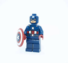 Lego Captain America - Dark Blue Suit 6865 Super Hero Minifigure