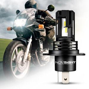 NOVSIGHT Motorcycle H4 LED Headlight Bulbs 28W 5000LM Lamps 6000K White Beam UK