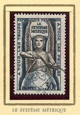 STAMP / TIMBRE FRANCE OBLITERE N° 998 POIDS ET MESURE / COTE 5 €