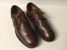 Timberland Mens Stormbuck Plain Toe Brown Waterproof Oxford Shoe