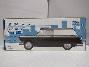 Racing Champions 1955 Chevrolet Delivery Car 1/25 Die Cast Coin Bank 011521MGL