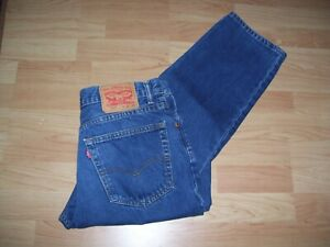 LEVI 504 MENS JEANS  SIZE 34 INS  (NOW REDUCED)