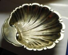 Sanborns Mexico Sterling Silver Clam Shell Dish w. Feet